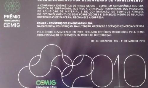 Prêmio CEMIG 2010 II